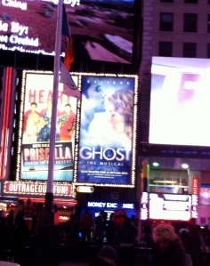 Ghost the musical builboard