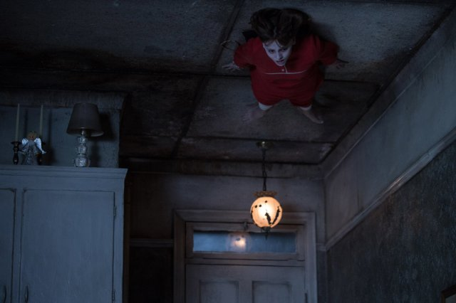 girl on ceiling