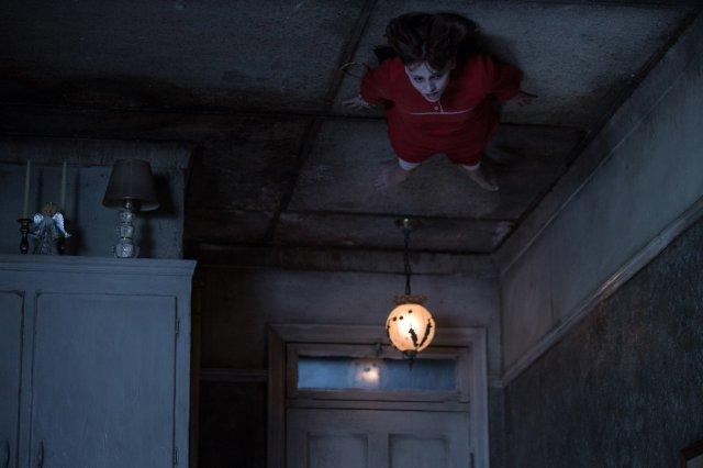 girl on ceiling
