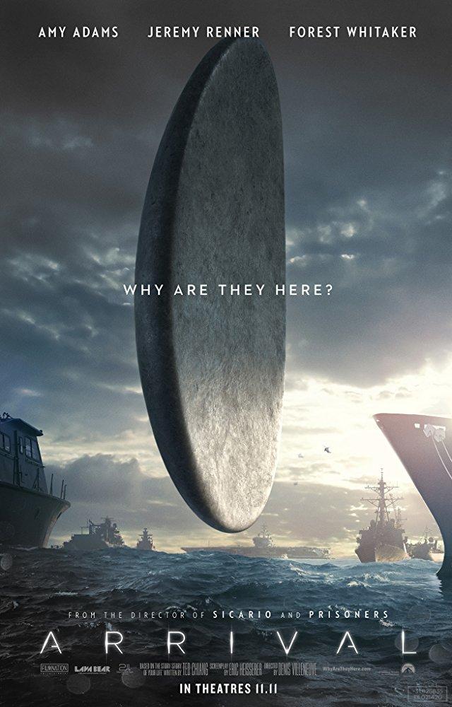 giant alien ship hovers